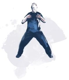 Figura Qi Gong